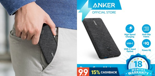 Anker PowerCore Metro Slim 10000