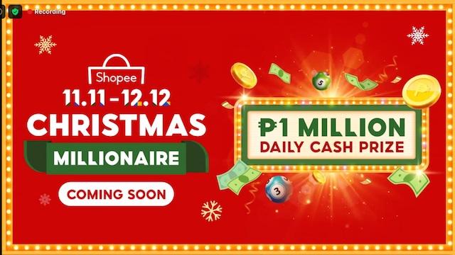 Shopee Christmas Millionaire