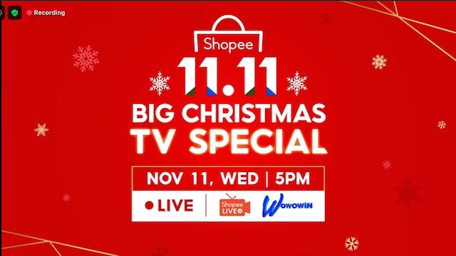 Shopee BIG Christmas TV Special