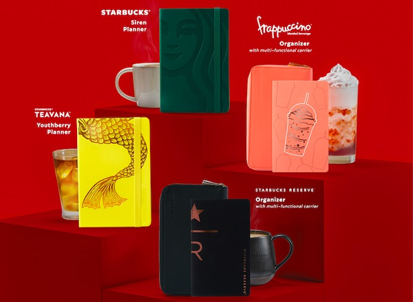 Starbucks 2021 Planners