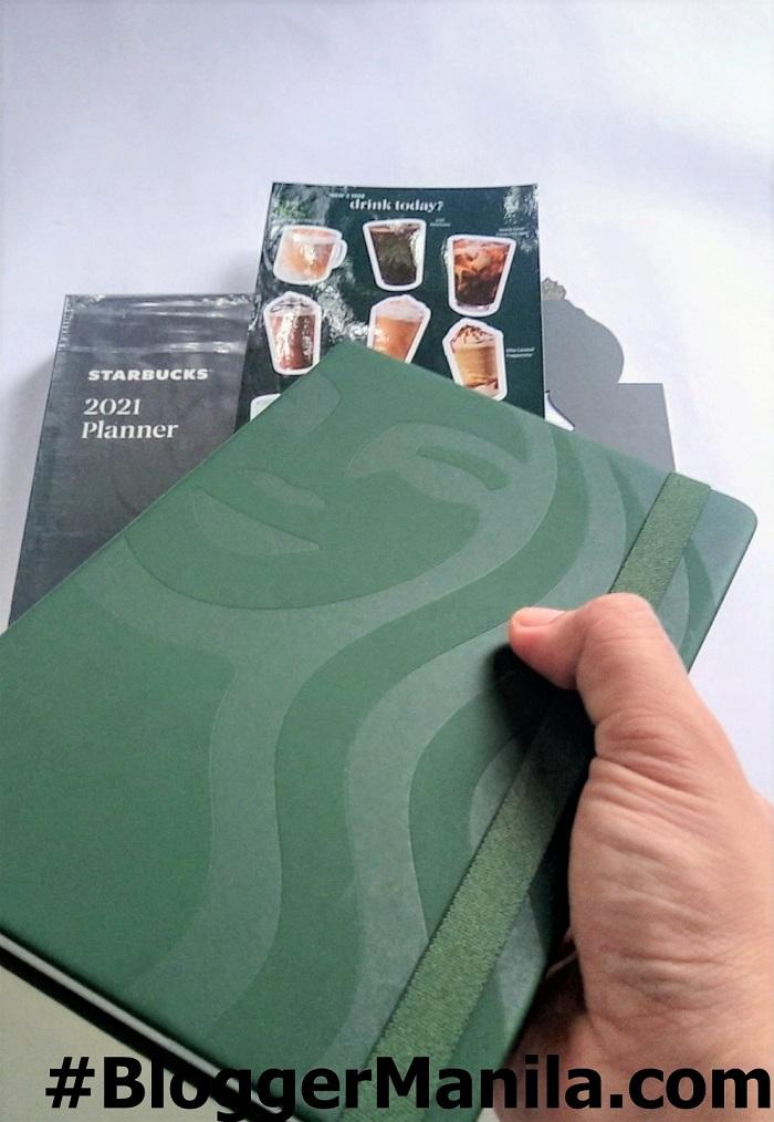 Starbucks Green Planner