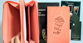 Starbucks Pink Planner