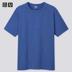 Men's and Women's U Crew Neck Short Sleeve T-Shirt