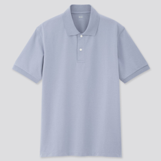 Men's Dry Pique Short Sleeve Polo Shirt
