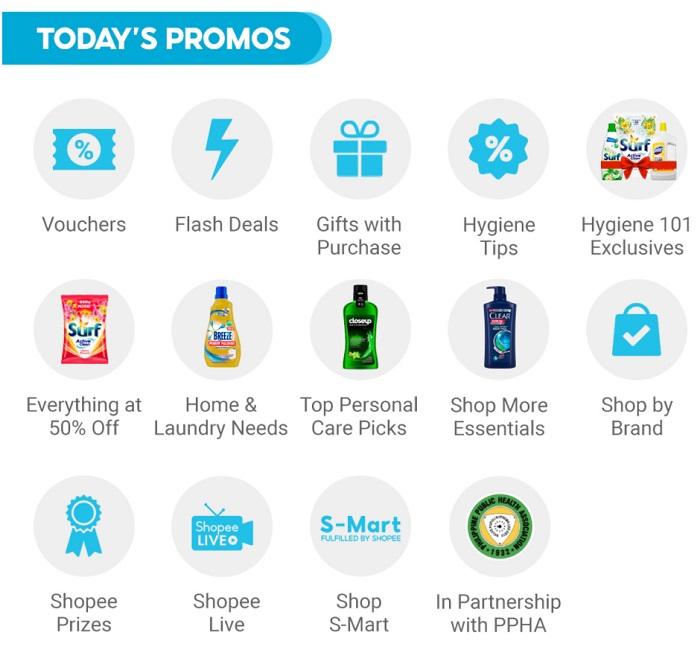 Unilever Hygiene Sale Promo