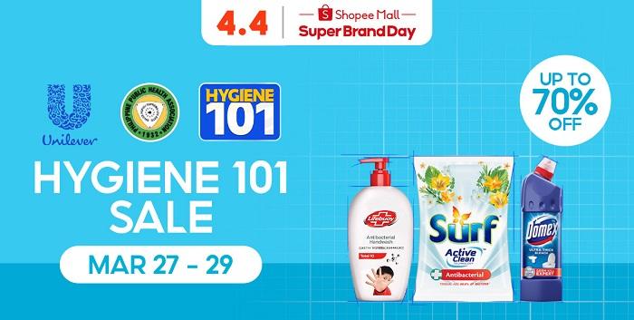 Unilever Hygiene Sale