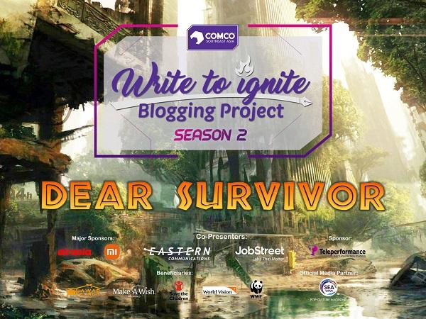 Write to Ignite Season 2: Dear Survivor